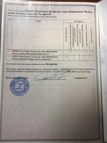 Лицензия ТК Трансфер 2 лист